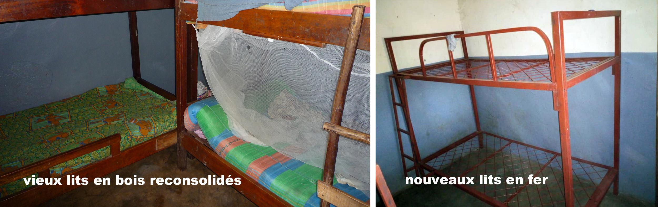 nouveaux lits en fer
